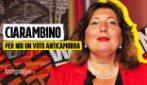 """Ciarambino: """"Per noi un voto contro la camorra dai colletti bianchi. Allarme voto inquinato"""""""