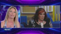 Grande Fratello VIP - Flavia Vento in studio litiga con Patrizia De Blanck