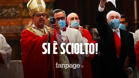 """Miracolo di San Gennaro, il sangue si è sciolto senza grumi: """"Vicinanza e amicizia del Santo"""""""