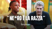 """GF Vip, Fausto Leali chiama Enock """"ne*ro"""": """"Nero è un colore, ne*ro è la razza"""""""