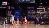 NBA, Anthony Davis segna sulla sirena i Lakers vincono gara-2