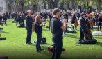 Suonano fuori il Parlamento: la protesta dei 400 musicisti