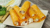 Cheddar rolls: the best appetizer ever ready in 6 minutes!