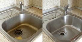 Come pulire il lavello ed eliminare i cattivi odori