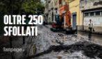 Emergenza maltempo, colate di fango a Sarno: gli sfollati sono oltre 250