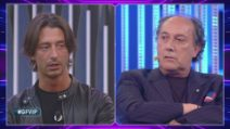 Grande Fratello VIP - Lo scontro fra Fulvio Abbate e Francesco Oppini