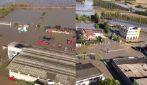 Piena del fiume Sesia, le immagini del disastro