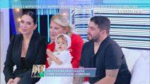 A Domenica Live, i nipotini di Diego Armando Maradona: Diego Matias e India Nicole