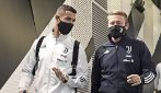 La Juventus posta l'arrivo dei calciatori allo stadio: scena surreale