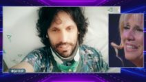 GFVip, Maria Teresa Ruta riceve il videomessaggio del fratello
