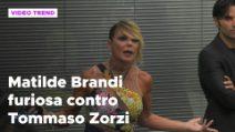 Grande Fratello Vip, Matilde Brandi furiosa contro Tommaso Zorzi