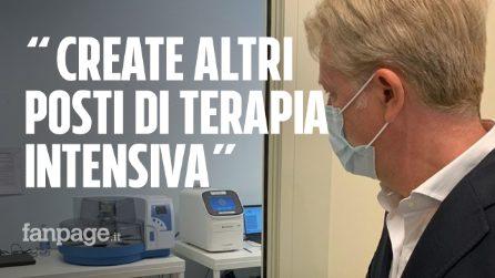 """""""Siamo senza posti di terapia intensiva, qui altro che Bergamo"""". La rabbia del sindaco di Agrigento"""