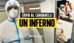 Napoli, al Cardarelli positivi e negativi Covid divisi solo da un paravento: racconto di un malato