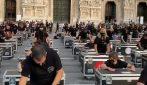 """""""Concerto"""" in Piazza del Duomo: la protesta dei lavoratori dello spettacolo pubblicata da Ramazzotti"""