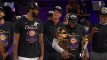 NBA, Finals: Miami-LA Lakers, gli highlights di gara-6 finita 93-106