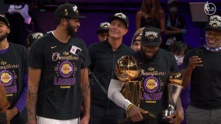 NBA, Finals: Miami-LA Lakers, gli highlights di gara-6 finita 93-106