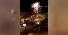 """Fuochi d'artificio sparati sul commissariato, """"attacco contro i poliziotti"""""""
