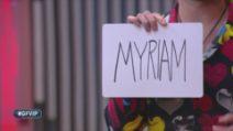 Myriam Catania eliminata durante la nona puntata del GF Vip 2020