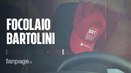 """Focolaio Bartolini, i sindacati: """"Abbiamo chiesto all'azienda di chiudere per tutelare i lavoratori"""""""