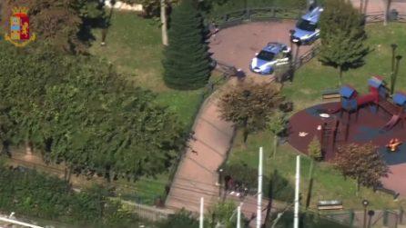 Monza, smantellato il giardino dello spaccio vicino alla stazione: 53 arresti