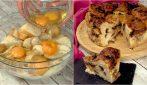 Torta dolce di pane raffermo: l'idea golosa per riutilizzare il pane vecchio!