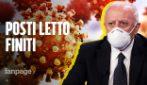 Covid, finiti i posti letto negli ospedali della Campania: la comunicazione dell'Unità di crisi