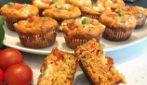 Muffin salati alla pizza: la ricetta originale e davvero saporita