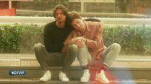 L'abbraccio tra Tommaso Zorzi e Francesco Oppini al Gf Vip