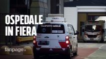 """Ospedale Fiera Milano, riapre terapia intensiva: """"14 pazienti entro lunedì, 104 posti in due giorni"""""""