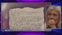 """GFVip, la lettera di Roberto a Maria Teresa: """"Non sei una cattiva mamma"""""""