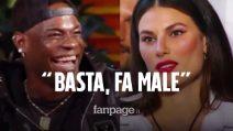"""GF Vip, la battutaccia di Mario Balotelli a Dayane Mello: """"Mi vuole dentro, poi dice fa male"""""""