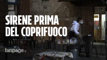 Sirene prima del coprifuoco: la protesta dei locali nel centro di Bologna