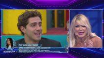 Matilde Brandi lascia intendere che Tommaso abbia tradito Stefania Orlando, ma lei si ribella
