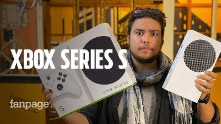 L'unboxing di Xbox Series S, la console piccola ed economica (ma che sa poco di next gen)
