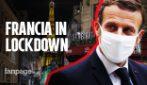 """La Francia è di nuovo in lockdown, l'annuncio di Macron: """"Seconda ondata più dura della prima"""""""