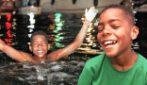 L'impresa del 12enne Christophe Maleau: 40 km a nuoto per la lotta contro il cancro al seno