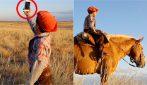 Non può andare a scuola durante la pandemia: a 7 anni fa 30km a cavallo per continuare a studiare