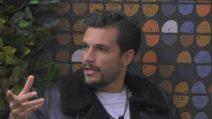 """Grande Fratello VIP - Andrea Zelletta su Tommaso Zorzi: """"Da parte sua non me l'aspettavo"""""""