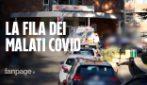 Napoli, al Cotugno i malati Covid visitati in auto
