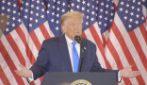 """America 2020, Trump: """"Abbiamo vinto, non ci faremo truffare"""""""