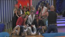 GFVip, le lacrime di Patrizia De Blanck commossa per la sorpresa di compleanno