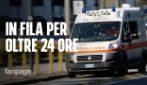 """Per 24 ore in ambulanza in attesa di entrare al Pronto soccorso: """"Perché mio padre deve morire?"""""""