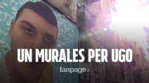 """Ugo Russo, ucciso da un carabiniere. Un murales ai Quartieri Spagnoli per chiedere """"Verità e Giustizia"""""""