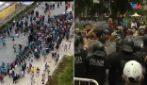 Camere ardente Maradona, scontri con la polizia all'esterno della casa Rosada