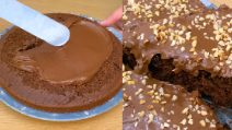3 ingredients chocolate cake: ready in just 30 minutes!