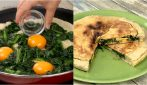Spinach egg pie: every slice is so delicious!