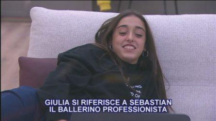 """Amici 2020, Giulia ha una cotta per il ballerino Sebastian: """"Dici che ho qualche possibilità?"""""""