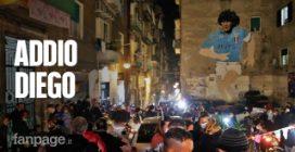 """Napoli dice addio a Diego Armando Maradona: """"Era uno di famiglia"""""""
