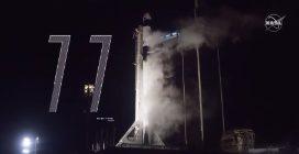 SpaceX Crew-1, il momento del lancio verso la ISS