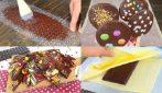 4 cose geniali che potrete fare con il una barretta di cioccolato!